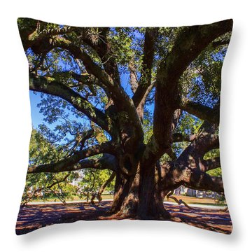 One Friendship Tree Throw Pillow
