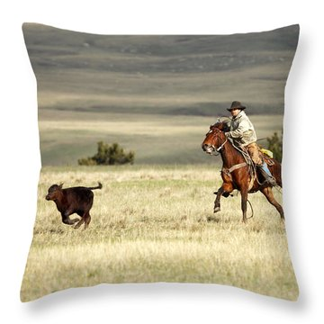 One Got Away Throw Pillow