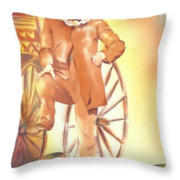 One Handsome Devil Circa 1872 Throw Pillow