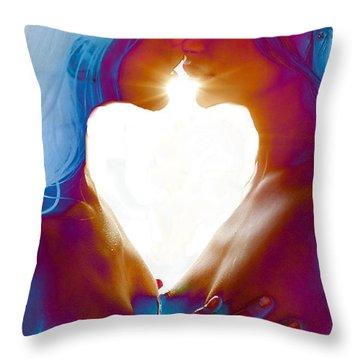 One Heart Throw Pillow