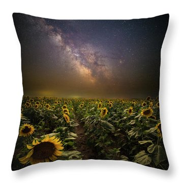 Throw Pillow featuring the photograph One In A Million  by Aaron J Groen