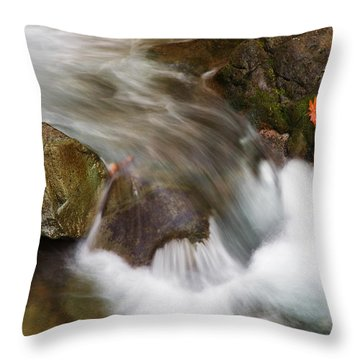 One Left Throw Pillow by Mike  Dawson
