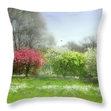 Throw Pillow featuring the photograph One Love by Diana Angstadt