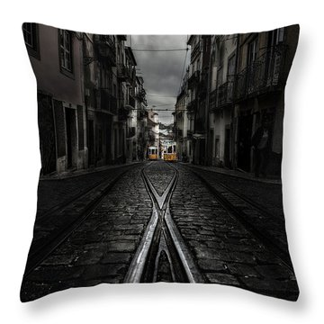 One Memory Throw Pillow by Jorge Maia