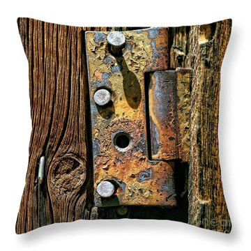 One Missing Throw Pillow