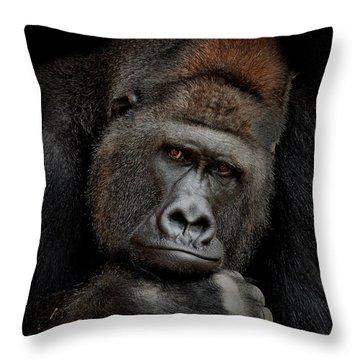 Gorilla Throw Pillows