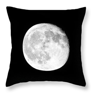 One Moon Throw Pillow