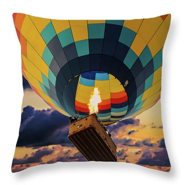 One Morning In Napa Valley Throw Pillow