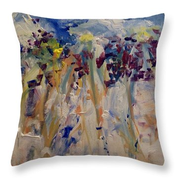 One Of A Kind Throw Pillow by Judith Desrosiers