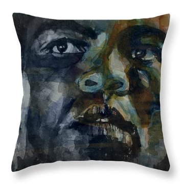 One Of A Kind  Throw Pillow by Paul Lovering