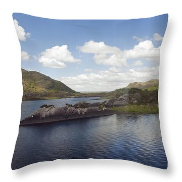 One Of The Lakes Of Killarney Throw Pillow