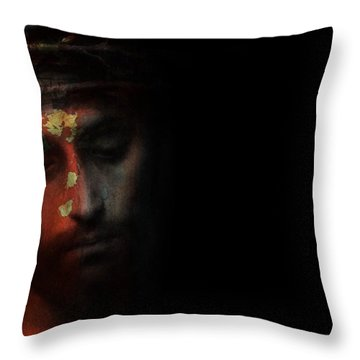 One Of Us Throw Pillow