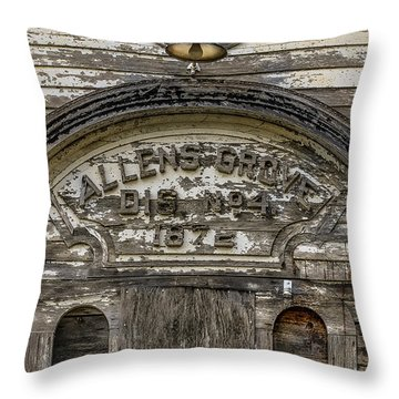 One Room School Throw Pillow by Ray Congrove