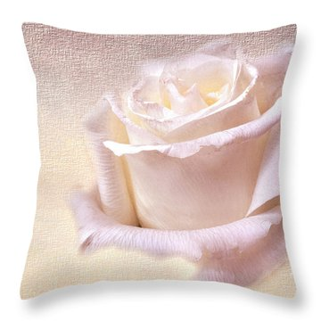 One Rose Is Enough For The Dawn Throw Pillow
