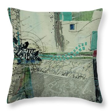 One S Storm To The Next Throw Pillow