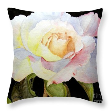 One Single Beauty Throw Pillow