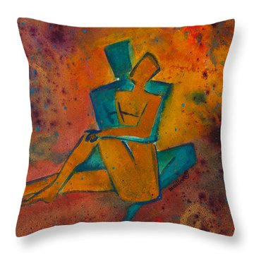 One Soul Divine Love Series No. 1002 Throw Pillow
