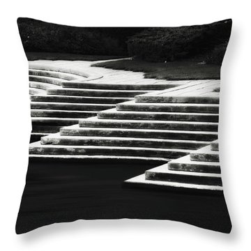 One Step At A Time Throw Pillow by Eduard Moldoveanu