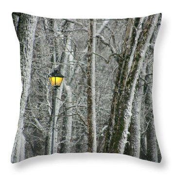 Throw Pillow featuring the photograph One Strange Tree 1 by David Dunham