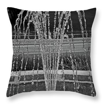 One Thousandth Of A Second Throw Pillow
