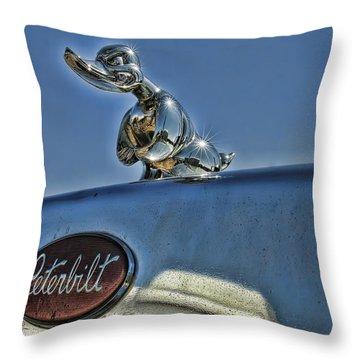 One Tough Duck Throw Pillow