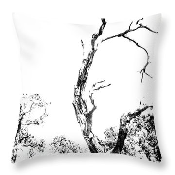 One Tree - 0192 Throw Pillow