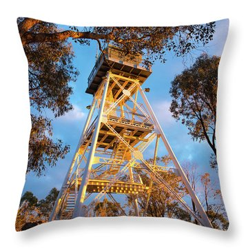One Tree Lookout Throw Pillow