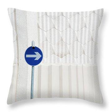 One Way 2 Throw Pillow