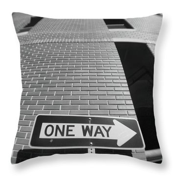 One Way Or Another Throw Pillow