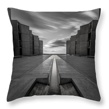 Throw Pillow featuring the photograph One Way by Ryan Weddle
