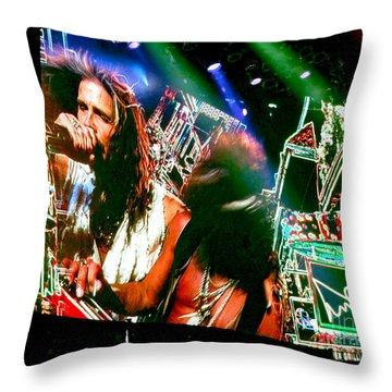 One Way Street. Aerosmith Live  Throw Pillow