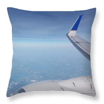 One Who Flies Throw Pillow
