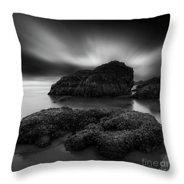 One Windy Day  Throw Pillow