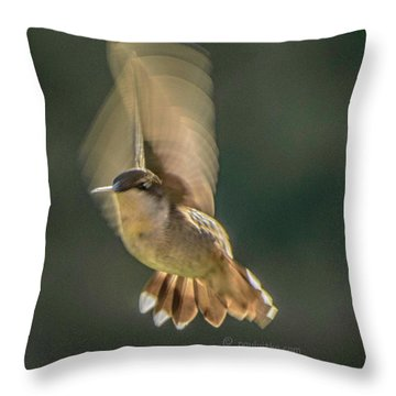 One_wing Throw Pillow