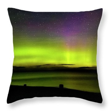 Throw Pillow featuring the photograph One Wish by Heather Kenward