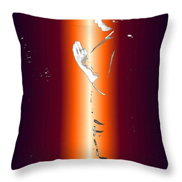 One With God Throw Pillow
