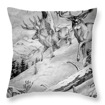 Ones That Got Away Throw Pillow by Jimmy Smith