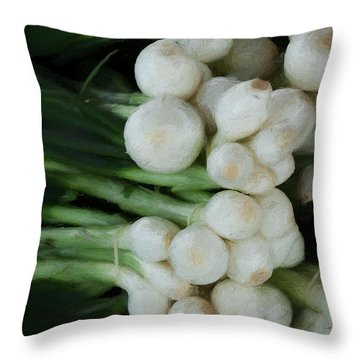 Onion 2 Throw Pillow by Travis Burgess