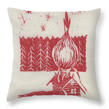 Onion Dome Throw Pillow
