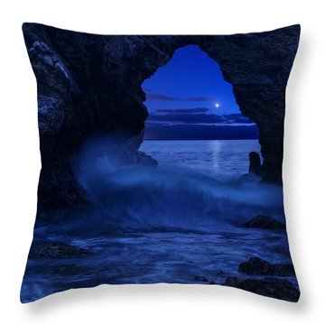 Throw Pillow featuring the photograph Only Dreams by Dustin  LeFevre