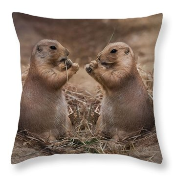 Throw Pillow featuring the photograph Only Hearts II by Robin-Lee Vieira