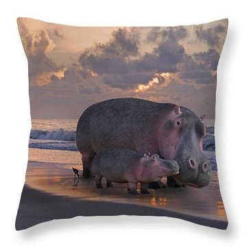 Only On Topsail The Best Kept Secret Throw Pillow by Betsy Knapp