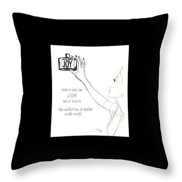 Throw Pillow featuring the digital art Only One by ReInVintaged