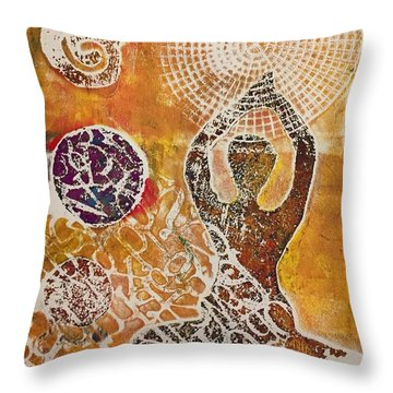 Only Peace Throw Pillow
