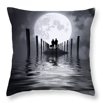 Only Us Throw Pillow