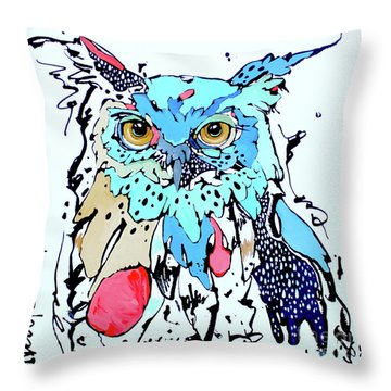 Onward II Throw Pillow