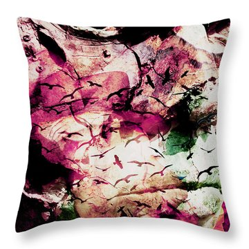 Onyourmind Throw Pillow