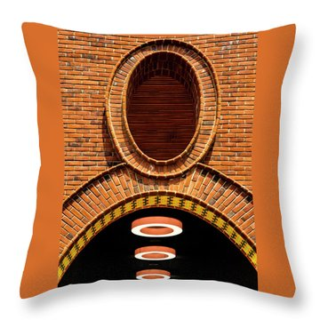 Throw Pillow featuring the photograph Oooo by Paul Wear