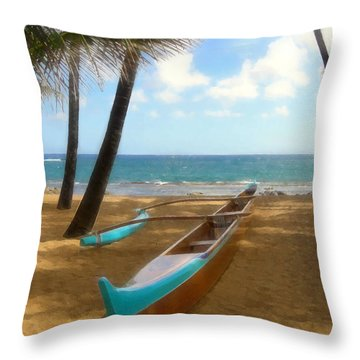 Throw Pillow featuring the photograph Opakapaka by Kenneth Armand Johnson