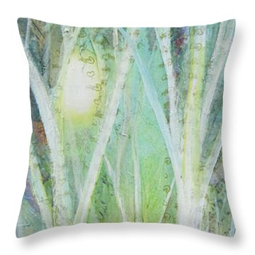 Opalescent Twilight I Throw Pillow